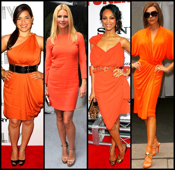 America Ferrara/Gwyneth Paltrow/Zoe Saldana/Victoria Beckham