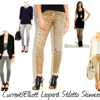 Haute Spot Trend: Introducing Current/Elliott Leopard Stiletto Skinnies We Must Adore!