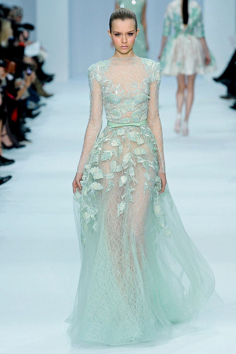 Fashion Deluxe Video Elie Saab Spring 2012 Haute Couture Style With Stylebabe Creatively