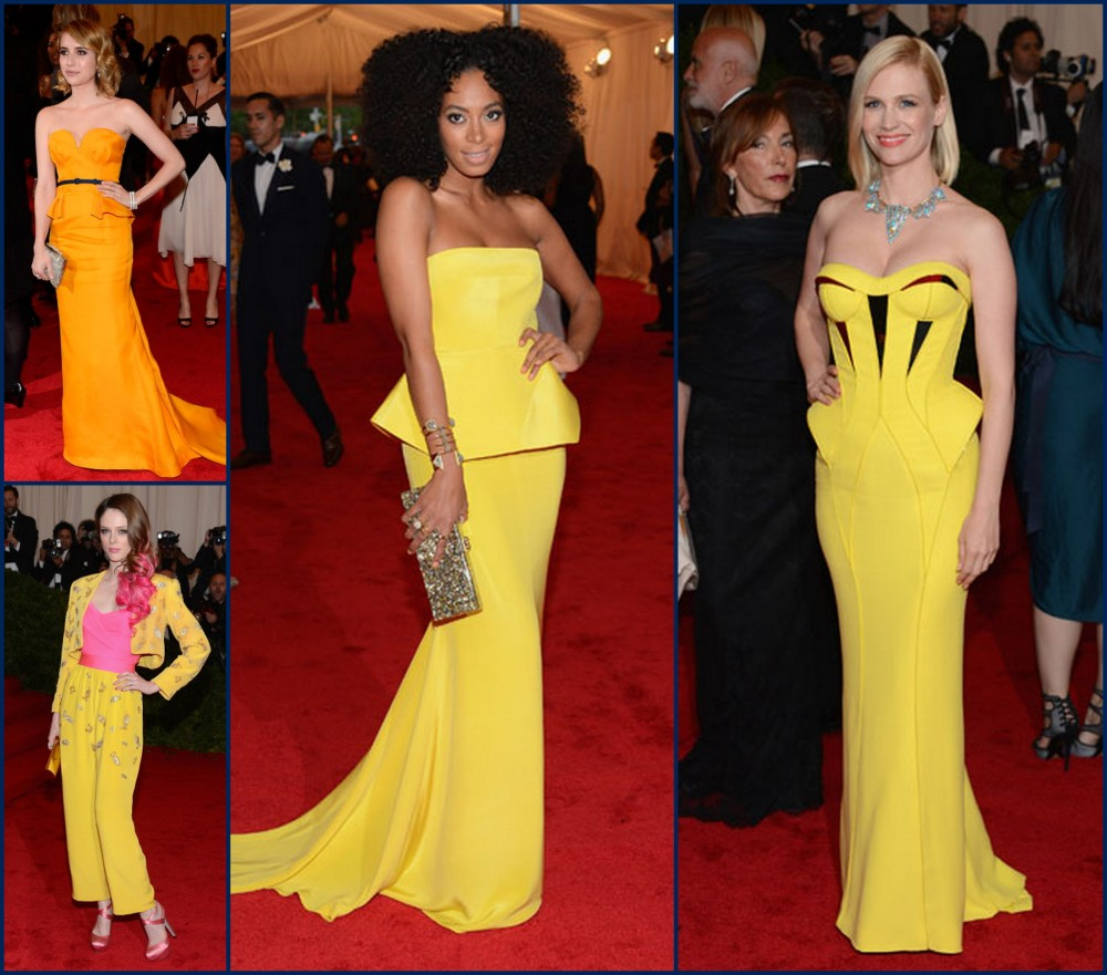 Met Gala Dresses 2012