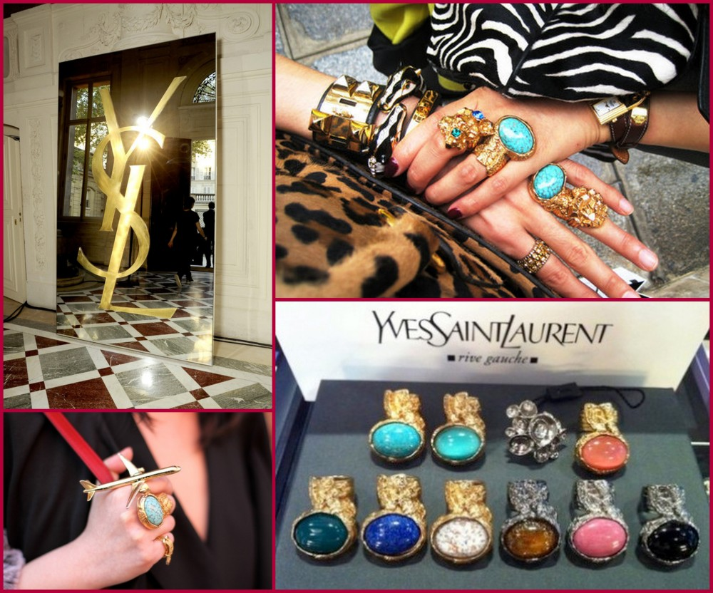 ysl arty ring ovals