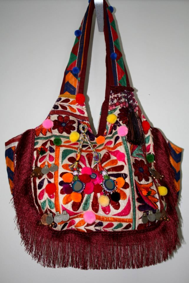 St. Bartz Patchwork Handbag!