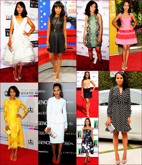2012 fashion celebs 68 Stars26 Kerry Washiontion