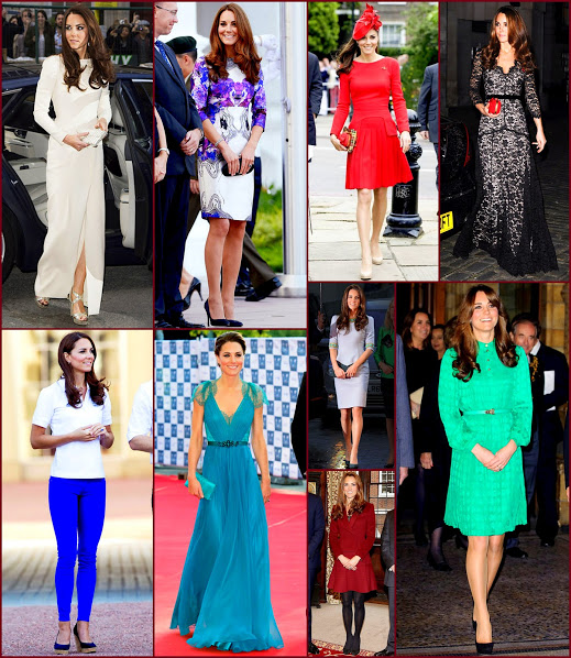 2012 fashion celebs 68 Stars27 Kate Middleton