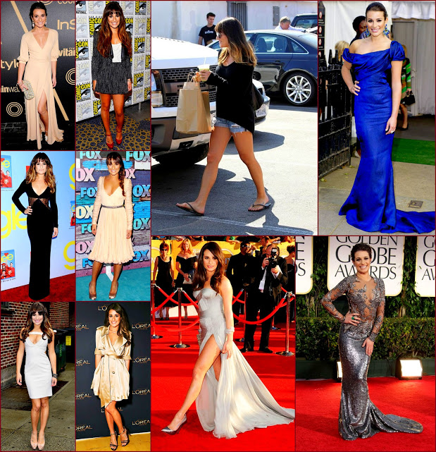 2012 fashion celebs 68 Stars29 Lea michele