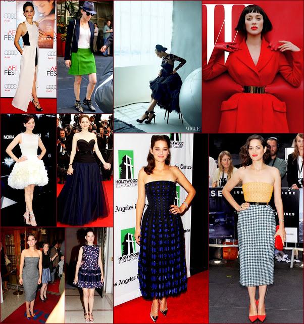 2012 fashion celebs 68 Stars31 Marion Cotillard
