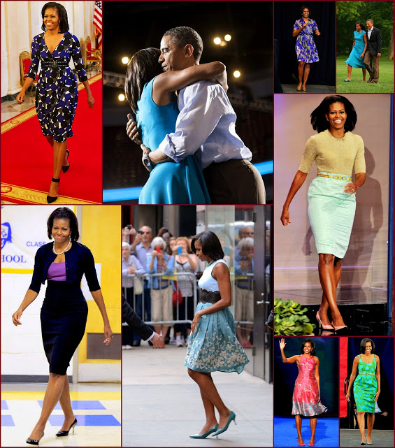 2012 fashion celebs 68 Stars35 Michelle Obama