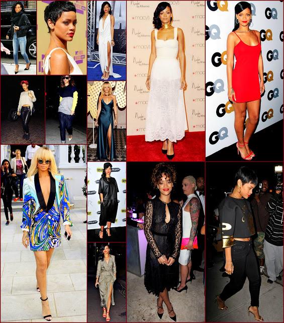 2012 fashion celebs 68 Stars36 Rihanna
