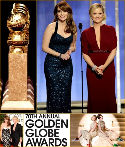 2013 70th Golden Globes 2013 70th Golden Globes Winners+In California Globe Fashion Amy Poehler =Tina Fey