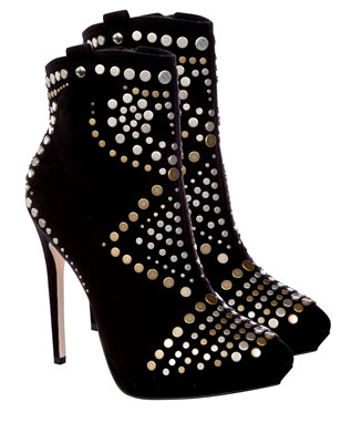 69453Lipsy Studded Ankle Boots