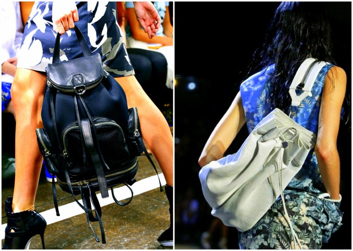 DKNY & Alexander Wang Backpacks 2013