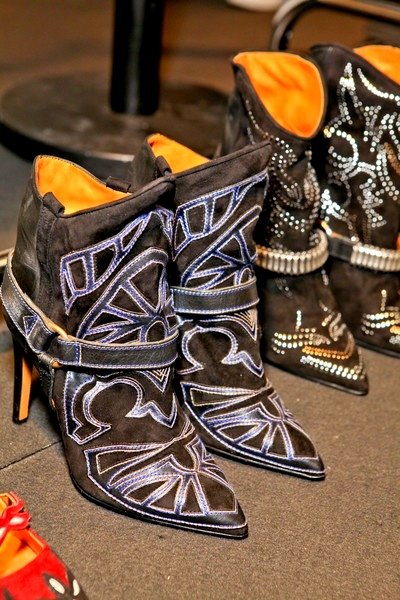 Fall 2012 Isabel Marant booties from the runway