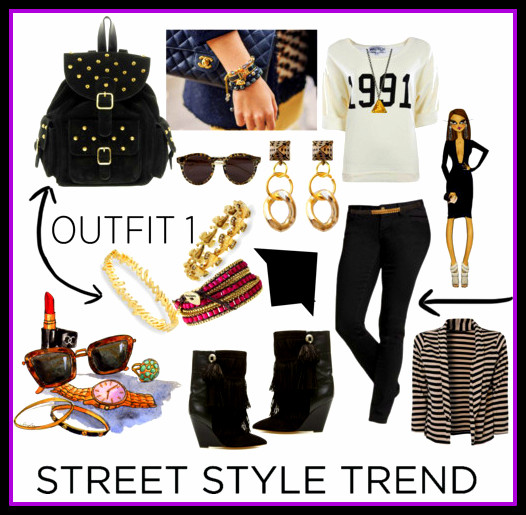 xStreet Style Trend ~ Edgy Backpack Star!