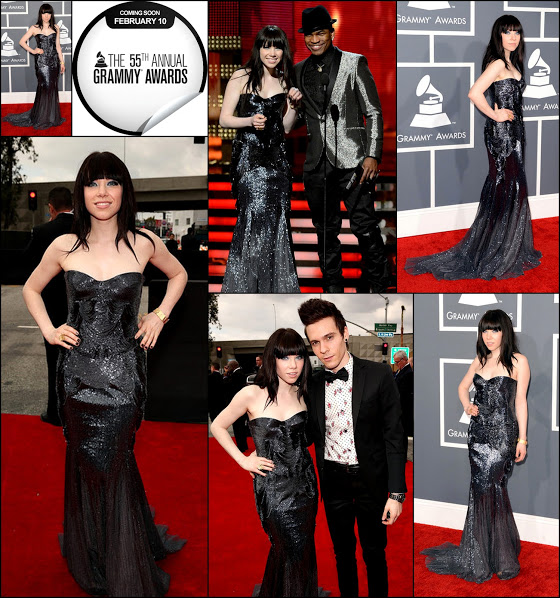 carly Rae jepsen 55th grammy fashion