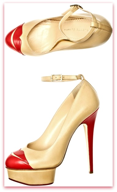 CHARLOTTE OLYMPIA-Kiss Me Dolores Shoes