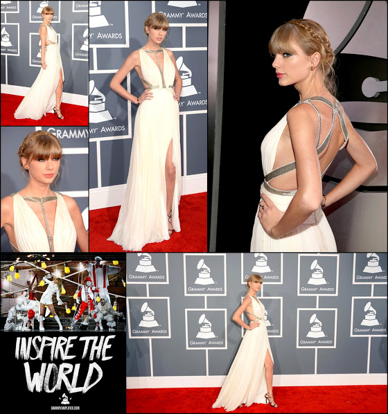 Taylor swift 2013 zimbio j mendel in white gown
