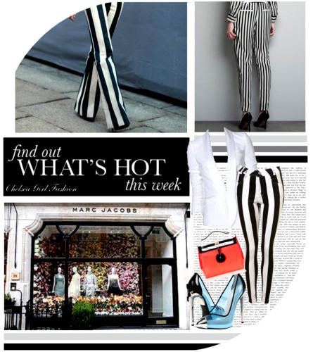 What's Hot This week Stripe It Up PantsJeans!