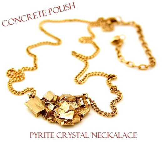 0f24f1b0990a9191770605996889c06fConcrete Polish Meteor Necklace