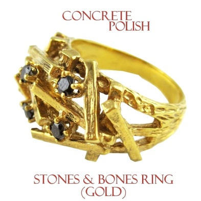 7ded79b5d25925e8674fba3f7a95ceadConcrete Polish Stones and Bones ring