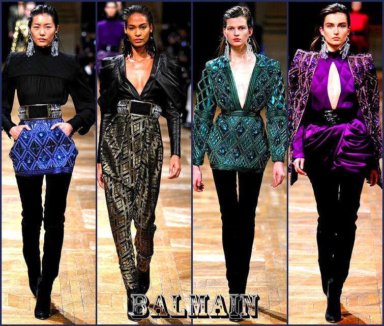 Balmain 2013 fall paris