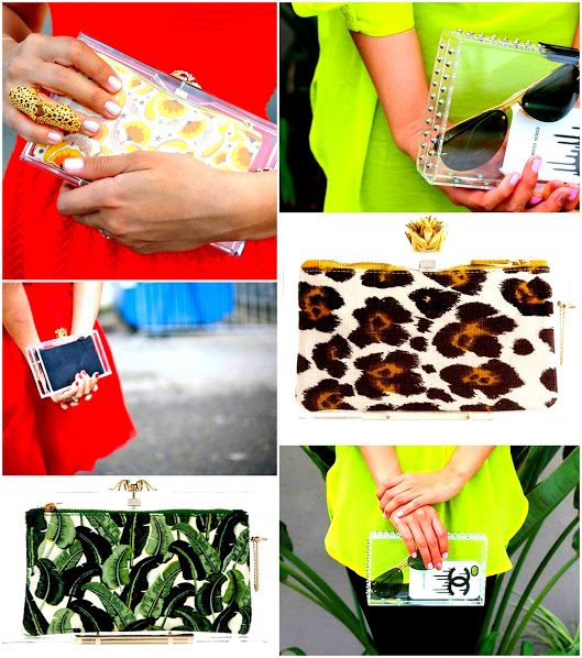 clear bags 2013 spring trend 1 lucite clutches charlotte olympia