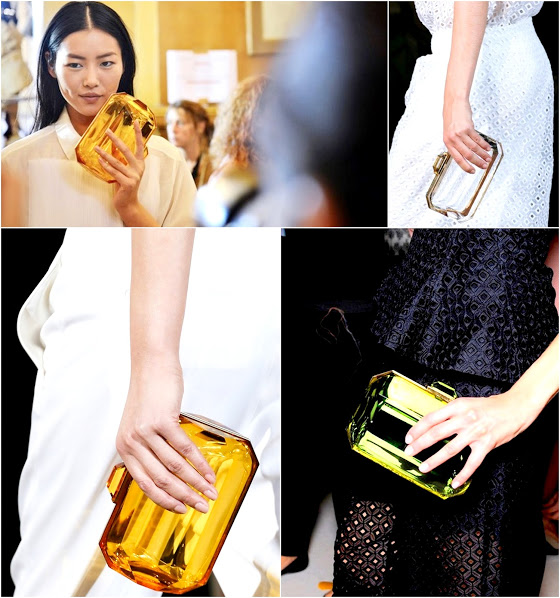 clear bags 2013 spring trend 1 lucite clutches stella mcCartney