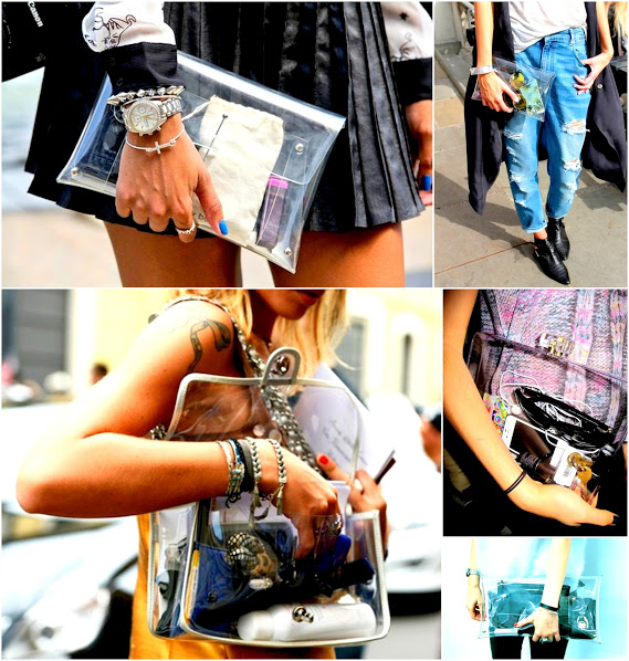 clear bags 2013 spring trend 1 plastic clutches