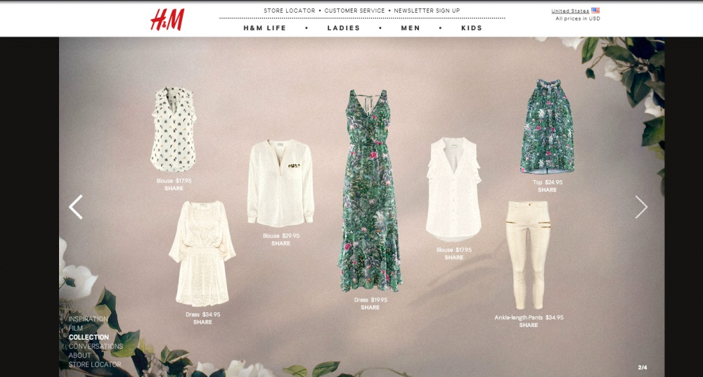 H&M green clothes 2