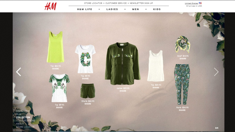 H&M green clothes 3