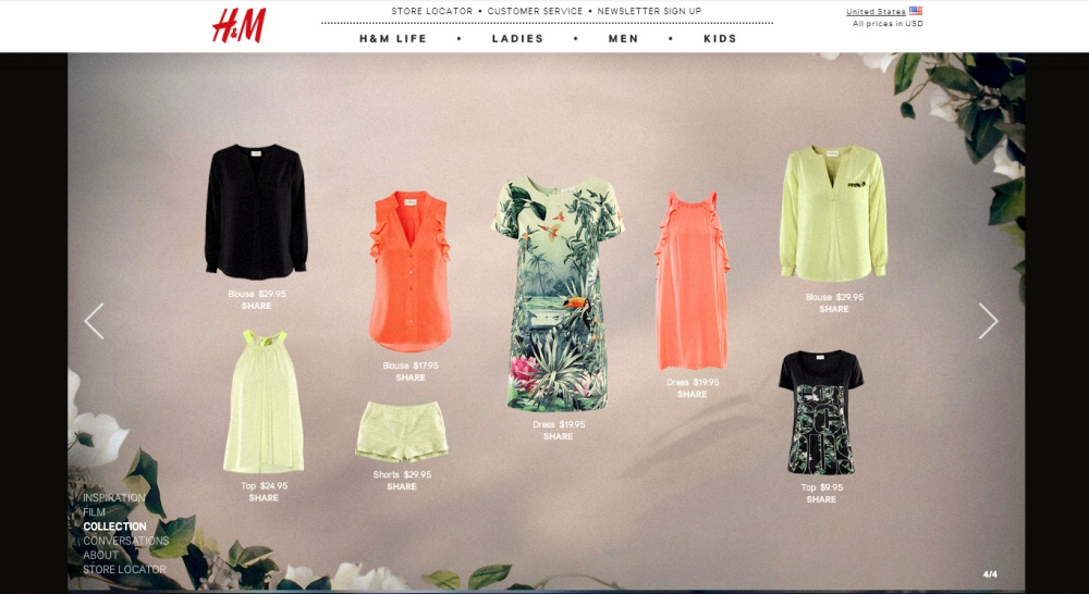 H&M green clothes 4
