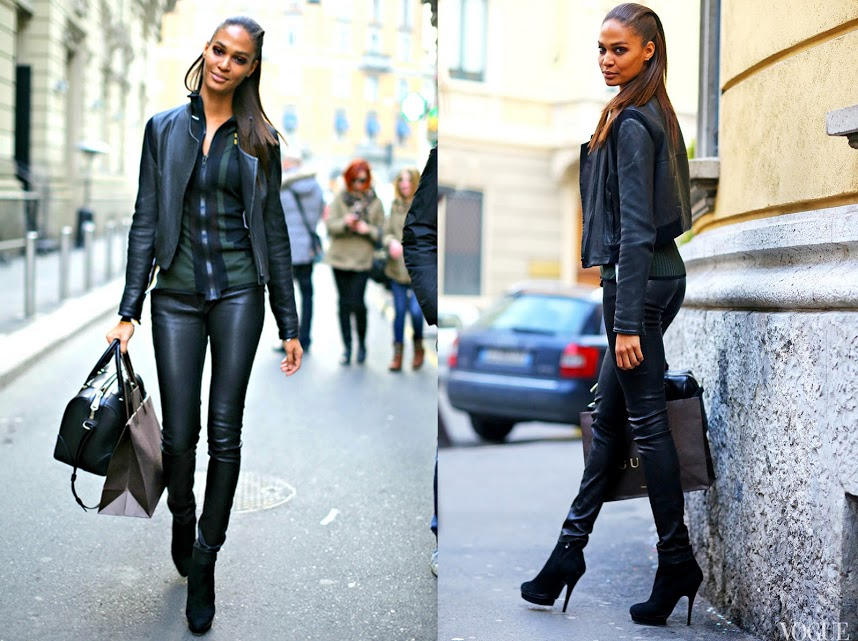Joan Smalls vogue street style 2013