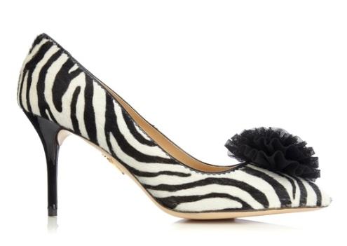 ZEBRA HEELS! fall 2012, Charlotte Olympia, shoes, mid-heels