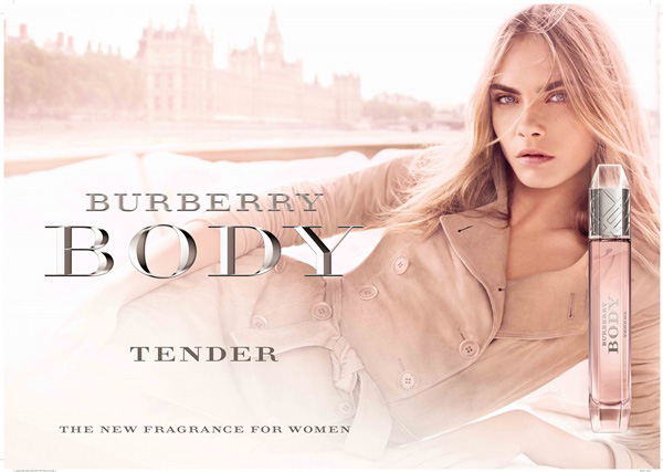 1361954123783Cara Delevingne  Burberry Body Tender‏
