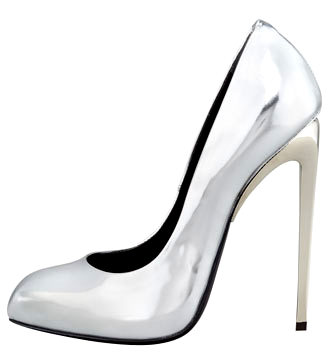 BGX1BAW_axGiuseppe Zanotti Mirror Patent Leather Pump