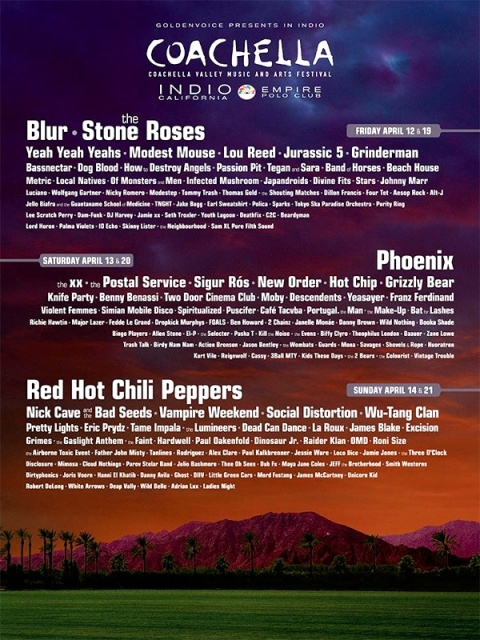 Coachella 2013 performers