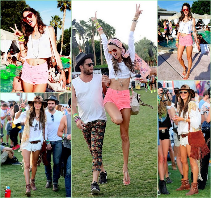 Look Back On Coachella 2013 ALESSANDRA