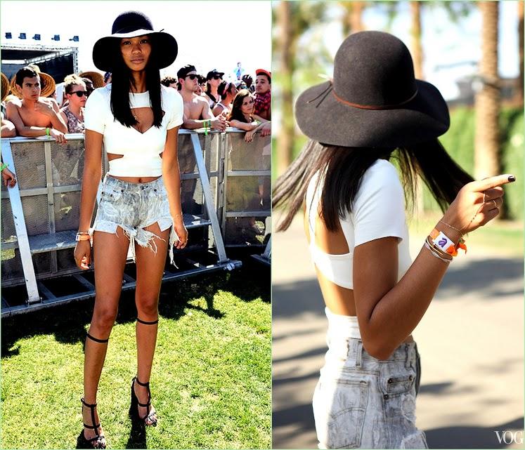 Look Back On Coachella 2013 Chanel Iman