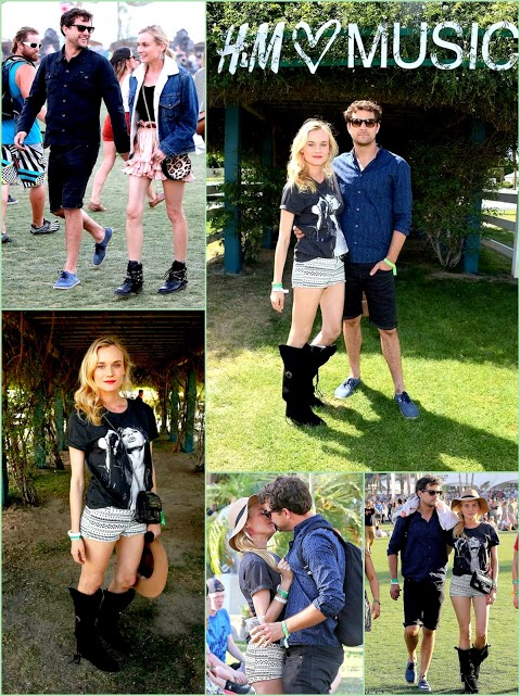 Look Back On Coachella 2013 Diane Kruger & Joshua