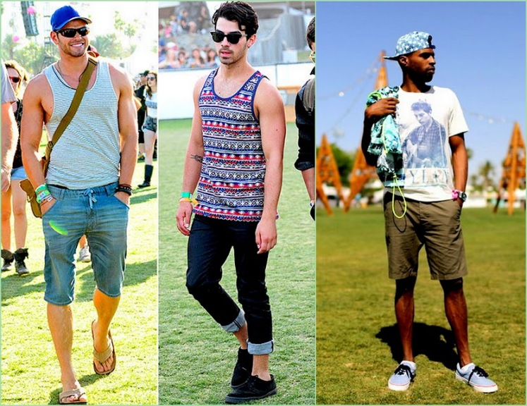 Look Back On Coachella 2013 hot guys style