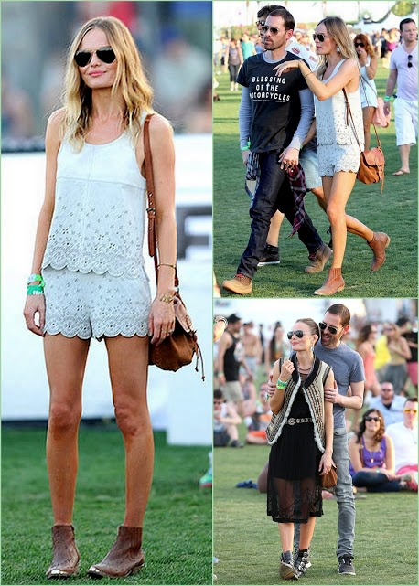 Look Back On Coachella 2013 Kate Bosworth & michael