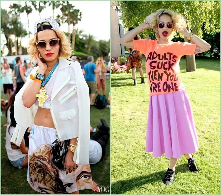 Look Back On Coachella 2013 Rita Ora