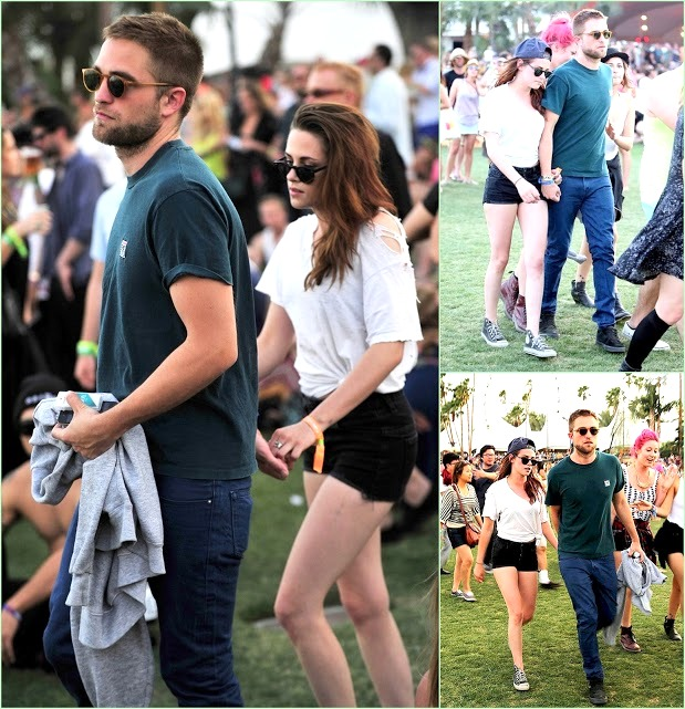 Look Back On Coachella 2013 Robert & Kristen Stewart