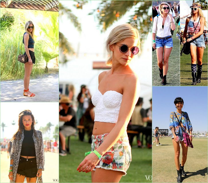 Look Back On Coachella 2013 Shorts and fun