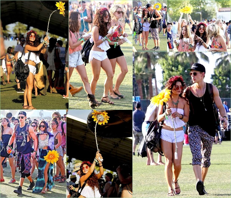 Look Back On Coachella 2013 Vanessa Hudgens Austin Butler Coachella