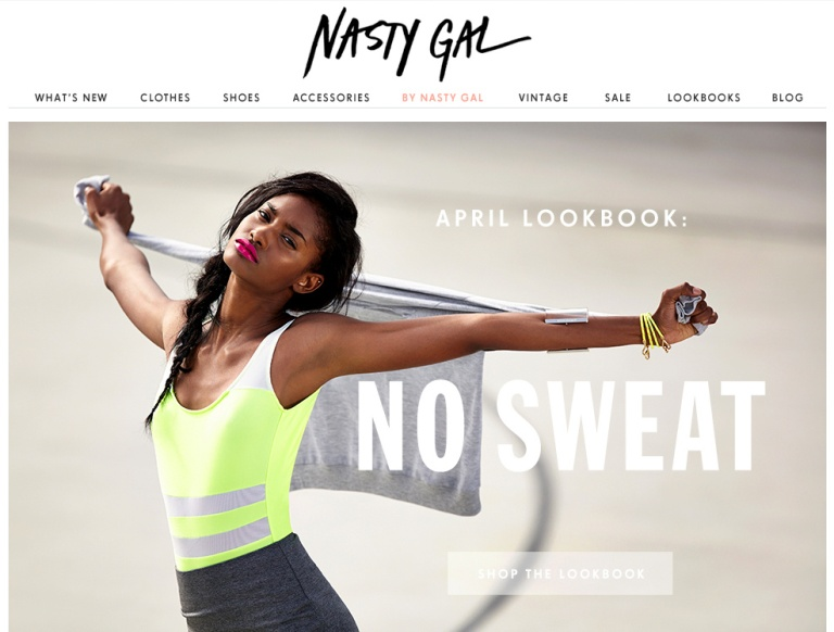 nasty gal 2013 april lookbook sweat