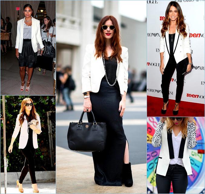 creme classic White blazers and bl
