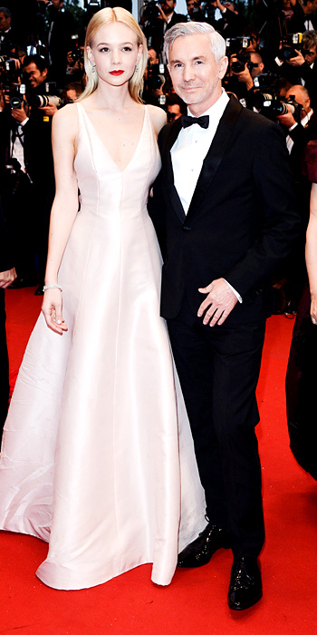 051513-cannes-carrey-mulligan-350Baz Luhrmann and Carey Mulligan (in Dior Haute Couture and Tiffany & Co. jewelry)