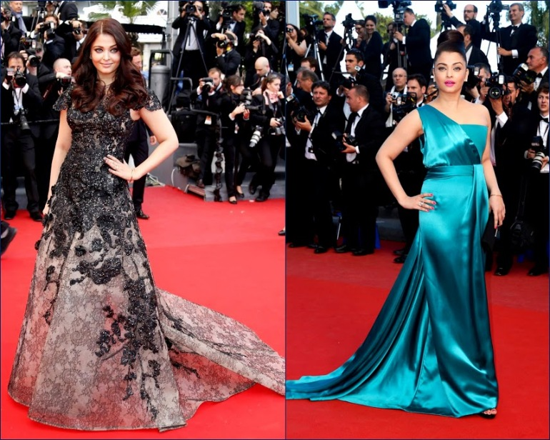 2 hbz Aishwarya Rai, in Gucci Première. 66th+Annual+Cannes+Film+Actress Aishwarya Rai attends the 'Cleopatra' premiere & Elie Saab Couture gown