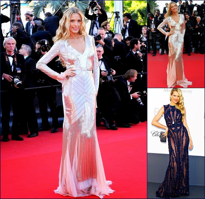 2 hbz Cannes+2013+Behind+Candelabra+Premiere+u_Heb85dGXzxCannes on May 21, 2013. Pictured Petra Nemcova. Emilio Pucci & Elie Saab couture