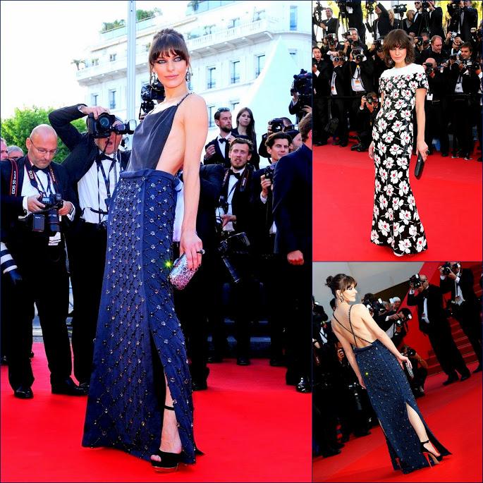 2Milla Jovovich, in PradaCannes+2013+Behind+Candelabra+Premiere+EmPGwU6EzVGxRed carpet arrivals Chanel